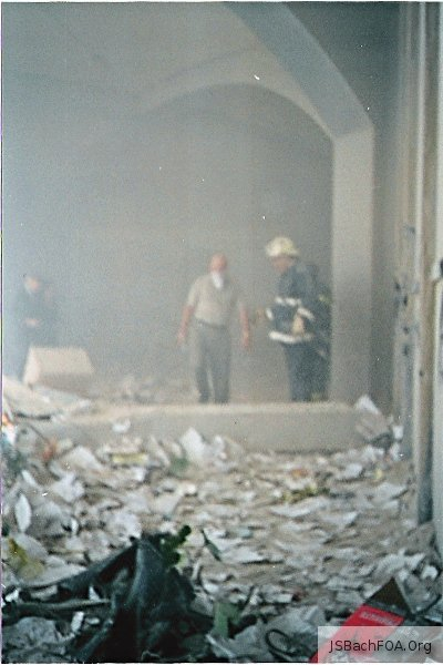Outside WTC on September 11, 2001 - Firefighters